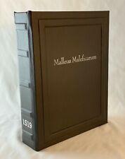 Malleus Maleficarum 1519 , Hammer Of Witches. Facsimile