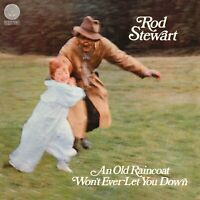 Rod Stewart An Old Raincoat Won't Ever Let You Down Vinyl Album LP Vertigo Seale