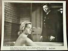 "BLONDE SINNER, Diana Dors, 1956, B&W 8""x10"" MOVIE STILL Photo, Allied Artists"
