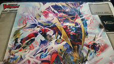 Cardfight Vanguard Dragonic Kaiser Vermillion, The Blood Sneak Preview Playmat