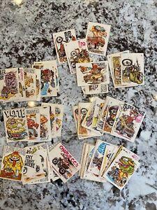 VINTAGE 1970 ODDEST ODD RODS - Donruss  71 used CARDS Many RARE 4 -50's