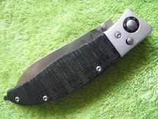 "Benchmade 483 Shori Knife Nak-Lok Pocket Folder (2.85"" Satin Plain) EXCELENT"