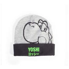 Official NINTENDO Super Mario Bros Yoshi Beanie Ski HAT Retro Gaming Gift