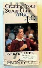 Barbara Sher - Creating Your Second Life After 40 ~ VHS Movie Video Tape