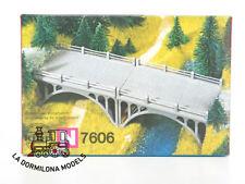 """Kibri N B - 7606 2 puentes del camino kit Construcción """"Double Pilares"""" Plástico"""