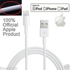 Genuine iPhone 5 5S 5C 6 7 iPad iPod USB Charger iTune Data Sync Charging Cable