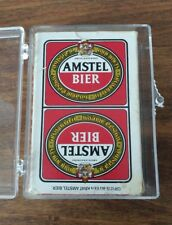 Amstel Bier Playing Cards - Beer - Amsterdam Holland - Great Graphics!