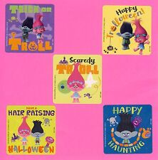 10 Trolls Halloween - Large Stickers - Party Favors - Poppy, Branch