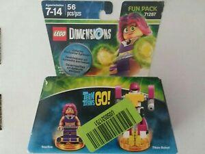 LEGO Dimensions Teen Titans Go! Starfire & Titan Robot Fun Pack 71287 Sealed Box