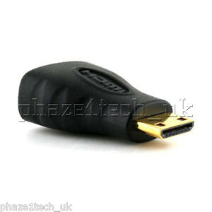 HDMI female to HDMI Mini male Gold Plated Adapter