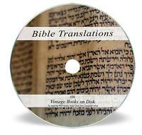 Ancient Bible Translations of Original Language on DVD- Aramaic Coptic Syriac J6