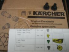 Karcher buses pour t racers pour K6-K7 et sous body spray lance