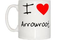 I Love Cuore radici di arrowroot TAZZA