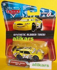 O - SIDEWALL SHINE -No 74 Piston Cup Disney Pixar Cars Mattel auto diecast racer
