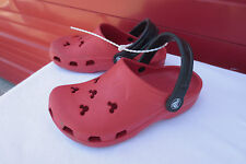 Crocs Red Mickey Mouse Disney Shoes Sz 1 3