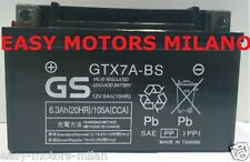 BATTERIA GS YUASA YTX7A-BS KYMCO AGILITY R16 RS NAKED LIKE PEOPLE'S SUPER 8 50
