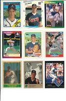 Lot 2 of (47) Tom Glavine Cards w/ Rookies RC & Inserts MLB Atlanta Braves