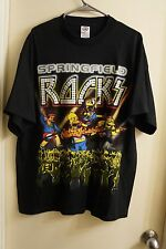 2005 The Simpsons Springfield Rocks Men's Size XL Homer Rock T Shirt