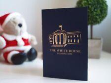 Beautiful 3D Pop-Up Handmade The White House Washington Card