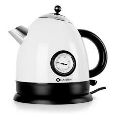 CORDLESS KETTLE STAINLESS STEEL 2200W WHTE ELECTRIC HOT WATER JUG 1.5 LITRE