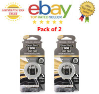 2 x NEW CAR SCENT Yankee Candle Car Air Freshener Diffuser in Jar shape Packing