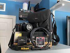 Nikon D3100 Digital Slr Camera - 18-55mm Lens - Bag and Other Accessories