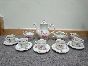 Bernadotte Czech Porcelain Tea Set Vintage