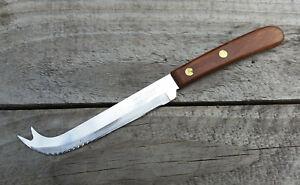 Vintage Prestige Cheese Knife Wooden Handle Cutlery Utensil