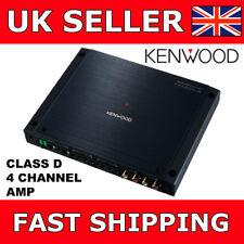 Kenwood XH401-4 Car/Van Amp Class D 4 Channel Power Amplifier 75W x 4 RMS