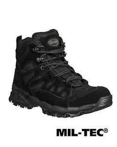Mil-Tec SQUAD Stiefel Schuhe 5 INCH SCHWARZ Stiefel Schuhe