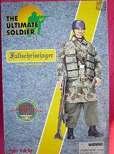 "21st Century Toy Ultimate Soldier WW2 German Fallschirmjager Paratrooper 1:6 12"""