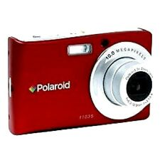 Polaroid T1035 10.0MP Digital Camera - Red - With Touch Screen - Full Accessory