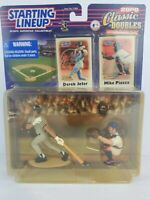 2000 STARTING LINEUP Classic Doubles JETER Yankees PIAZZA Mets *Non-mint package