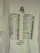 141 Kentucky Derby 2015 Post Postion Shirt- With American Pharoah - Xx-Large
