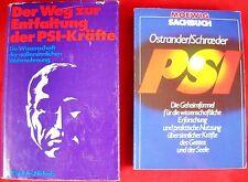 2 x Bücherpaket - Esoterik - PSI aussersinnliche Wahrnehmung - übersinnliche