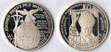 Medaglia Argento 925 Joannes Paulus PP. II USA 1979 Fondo Specchio