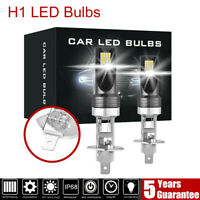 2X H1 200W 12000LM LED Car Headlight Conversion Globes Bulbs Beam 6000K LD2004