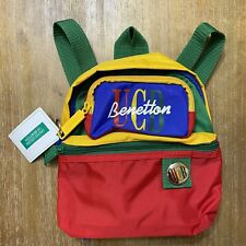 New listing Vintage United Colors Of Benetton Ubc Toddler Backpack Purse Bag