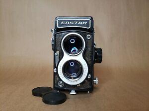 Eastar TLR Twin Lens Reflex 120mm Film Camera & Case - Film Tested!