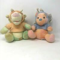 Disney Parks Winnie The Pooh And Tigger Plush Sherbert Color