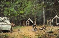 NY Livingston Manor MOHICAN TROOP @ Beech MTN Boy Scouts of America postcard BS1