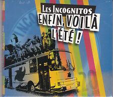 CD DIGIPACK 10T LES INCOGNITOS ENFIN VOILA L'ÉTÉ DE 2010 NEUF SCELLE