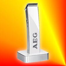 AEG HSM/R 5638 Akku-Haarschneidemaschine Bartschneider weiss