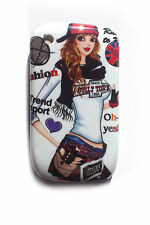 FUNDA PARA MOVIL Silicona DURA BlackBerry 8520 8530 9300