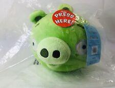 Plush Toy Angry Birds Original Rovio Entertainment King Green Pig 2009-2012