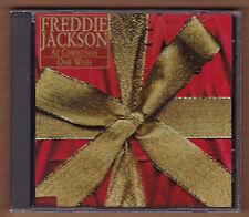 "FREDDIE JACKSON promo cd single ""At Christmas/One Wish"" 1994 RCA New Sealed SOUL"
