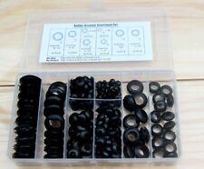 200pcs Rubber Grommet Assortment Set Harness Grommet Electrical Wire Gasket