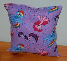 My Little Pony Pillow  HANDMADE Cotton / Flannel Toddler ,Travel  NEW Pillow