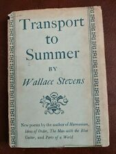 Transport to Summer by Wallace Stevens (1947 1st ed Ferrini signed)