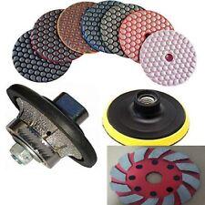 """3/8"""" Granite Countertop Demi Bullnose 4"""" Dry polishing grinding disc 35+1 marble"""